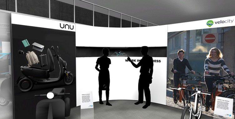 Holobox für 3D-Präsentation aktueller Projekte