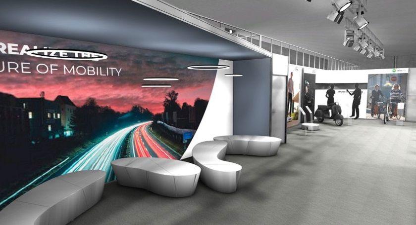 Ausstattung des virtuellen Showrooms