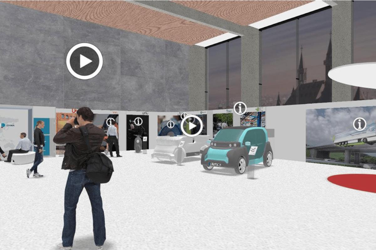 Virtueller Showroom PEM Übersicht