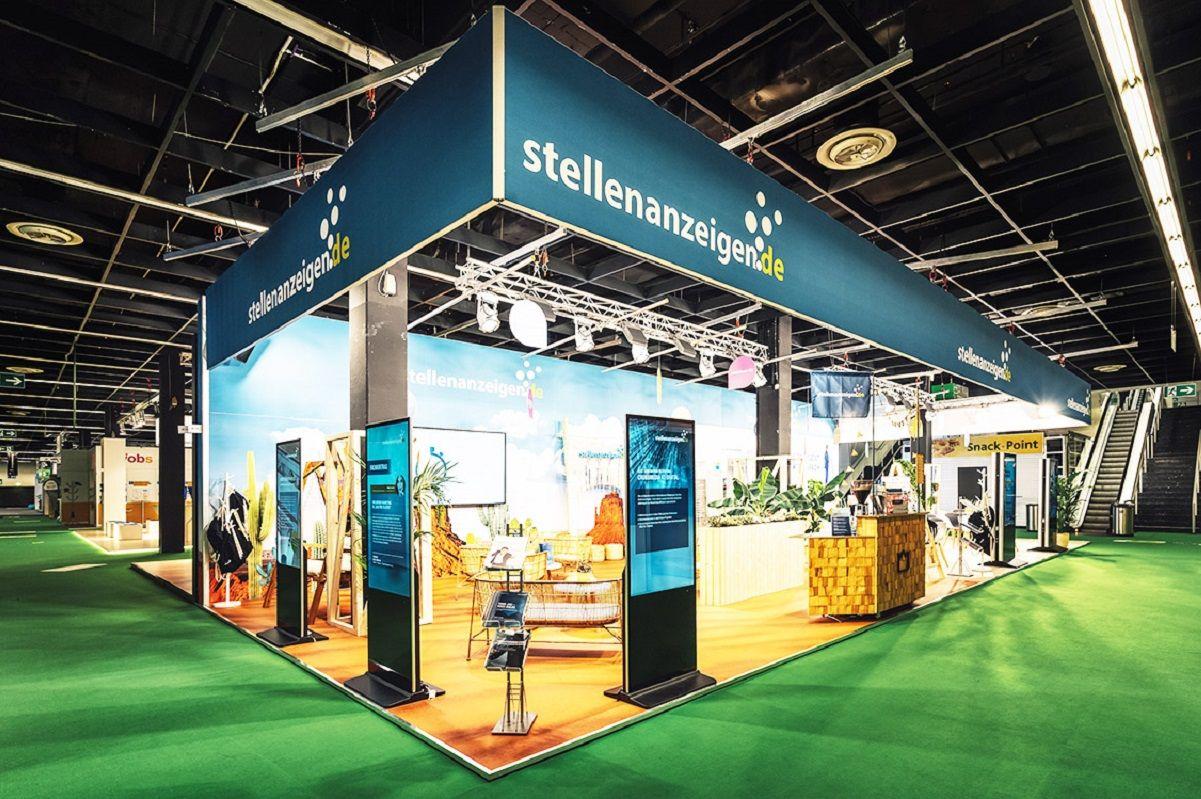 Exhibition stand stellenanzeigen.de