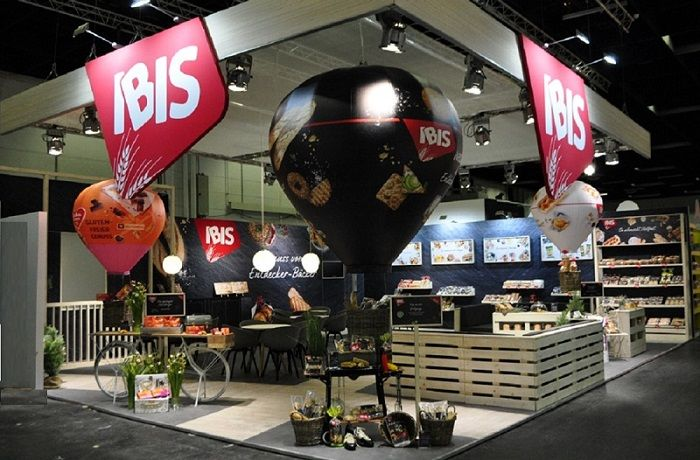 Messestand Ibis