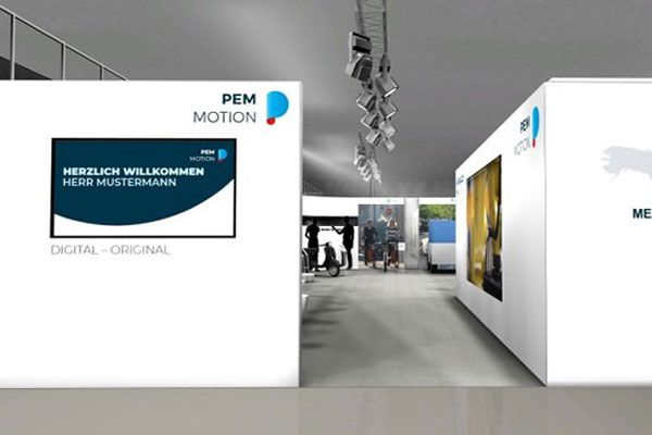 Virtueller Showroom für PEM Motion GmbH