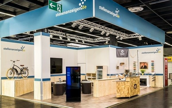 Booth Construction RocketExpo Zukunft Personal Cologne stellenanzeigen