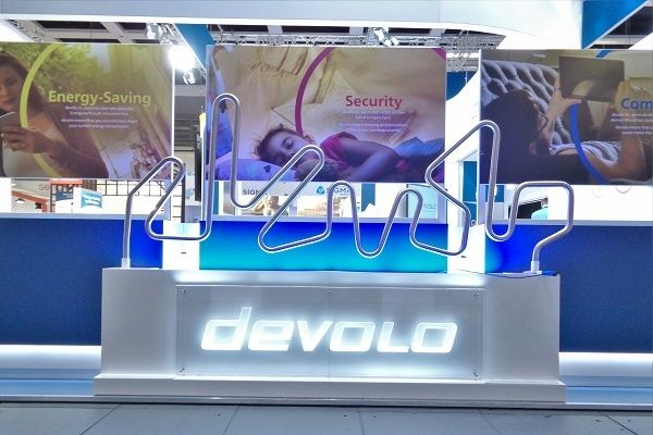 stand design RocketExpo IFA Berlin devolo