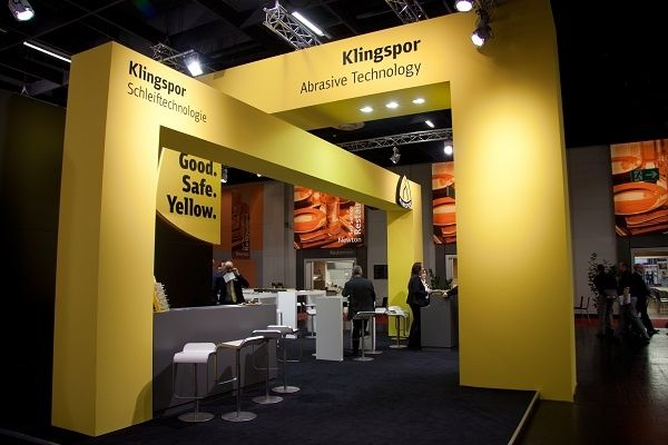 Exhibition design RocketExpo Hardware fair cologne Klingspor