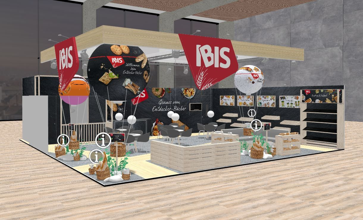Virtueller Messestand Ibis