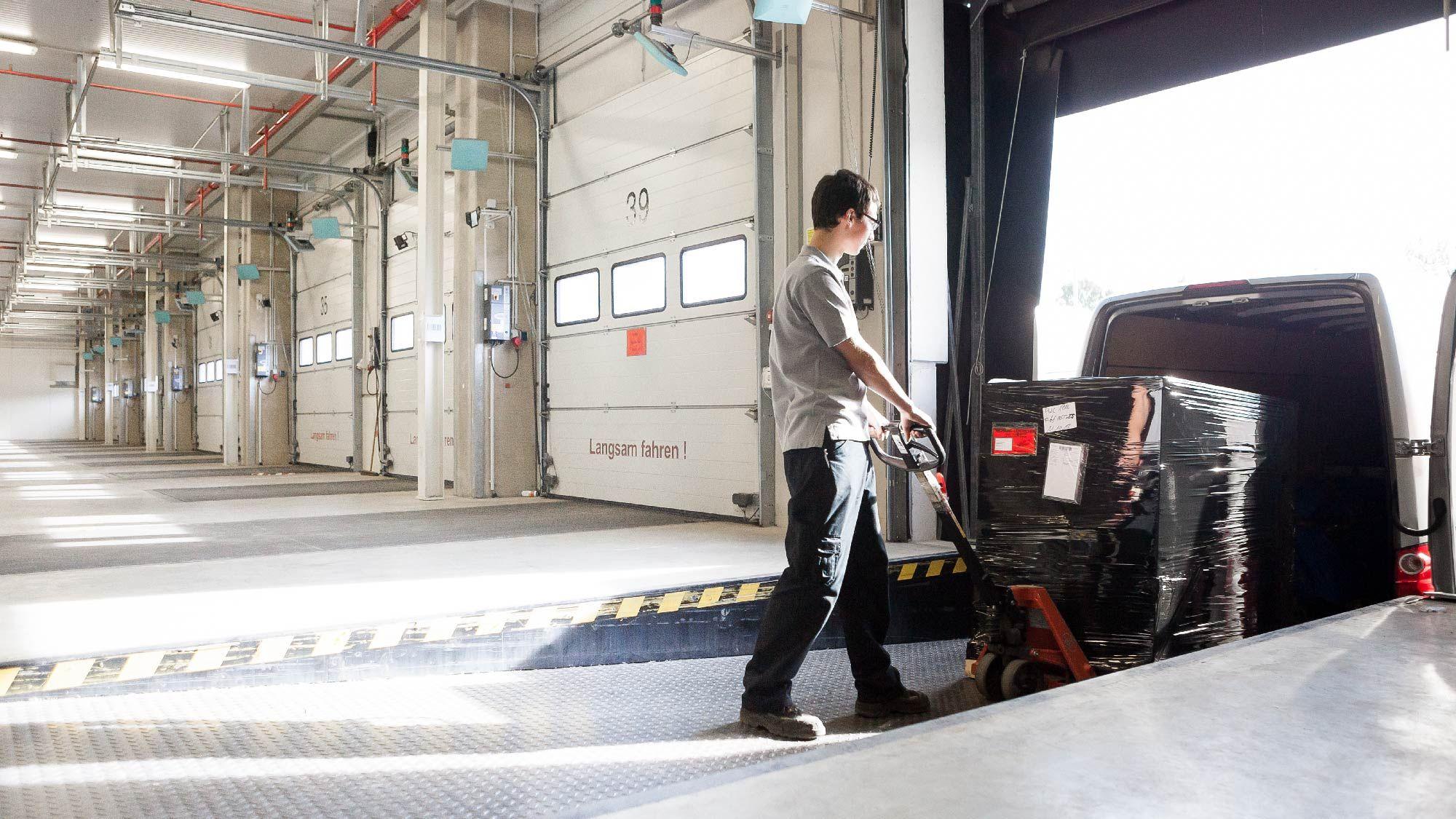 Die Planung von Montage und Logistik